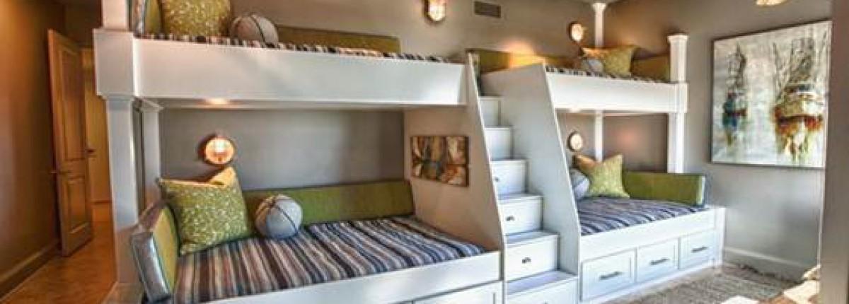 Giường tầng – giải pháp tối ưu cho không gian nhỏ
