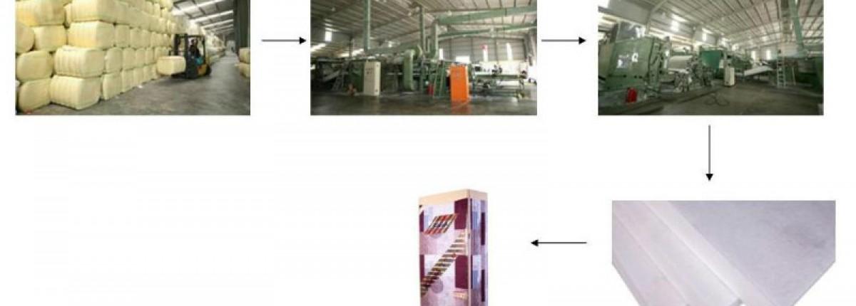 Đệm bông ép Everon được sản xuất như thế nào?