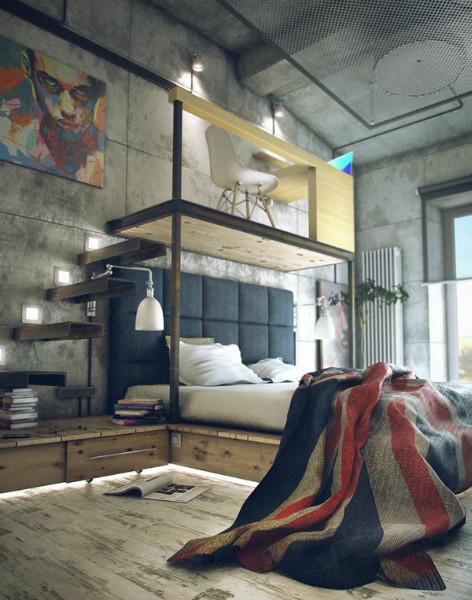 giường cho không gian hẹp 4