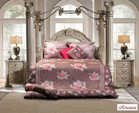 bài trí giường cưới 4