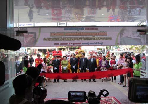 Hình ảnh khai trương chi nhánh Everon tại Campuchia